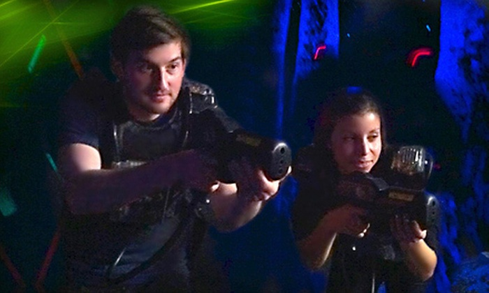 Lazer FX–Lazer Tag - Terry Sanford: Laser-Tag Outing with Game Tokens for Up to Two or Up to Four People at Lazer FX–Lazer Tag in Fayetteville (52% Off)
