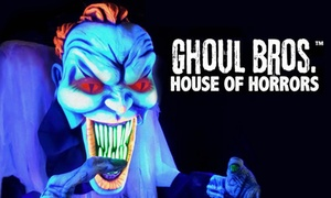 26% Off Admission for Two to Ghoul Brothers at Ghoul Brothers, plus 6.0% Cash Back from Ebates.