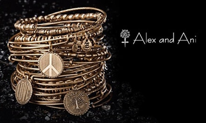 Alex and Ani - Back Bay: $50 for $100 Worth of Customizable Jewelry at Alex and Ani