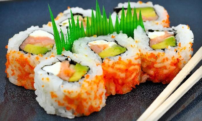 Tsukiji Sushi Bar & Restaurant - Mill Valley: $25 for $50 Worth of Japanese Fare and Drinks at Tsukiji Sushi Bar & Restaurant in Mill Valley