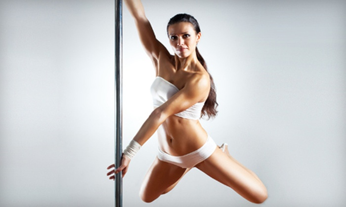 Pole Fitness Miami - Multiple Locations: 5, 10, or 15 Women's Pole-Dancing, Dance, or Aerial-Silks Classes at Pole Fitness Miami (Up to 71% Off)