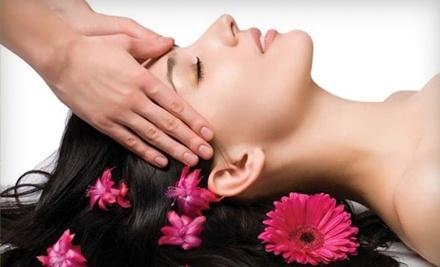 Massage, Facial, and Mani-Pedi Package (a $200 value) - Allure De Vie Salon & Day Spa in Chicago