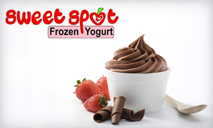 Sweet Spot - Del Mar Junction: $6 for $12 Worth of Self-Serve Frozen Yogurt and Toppings at Sweet Spot in Laredo