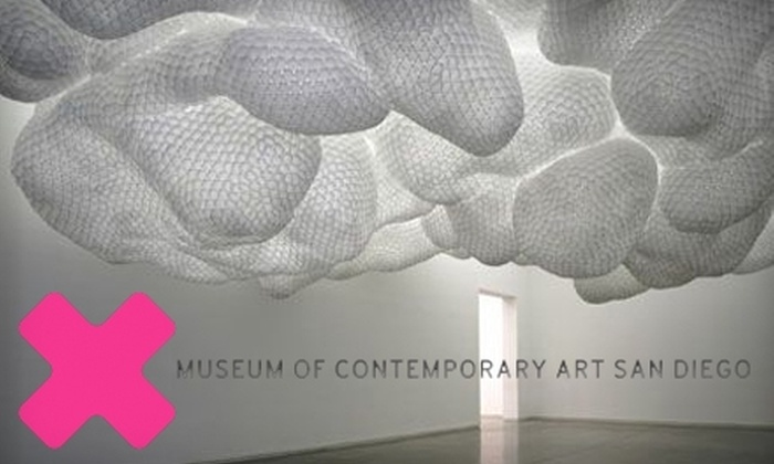 Museum of Contemporary Art San Diego - Multiple Locations: $30 for a Single-Person E-Membership ($65 Value) or $55 for a Family Membership ($115 Value) to the Museum of Contemporary Art San Diego