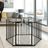 Dreambaby Mayfair 3-in-1 Play Yard, Fireplace, and Wide Barrier Gate