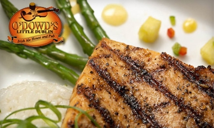 O'Dowd's Little Dublin - Prairie Point-wildberry: $10 for $20 Worth of American Pub Fare and Drinks at O'Dowd's Little Dublin in Zona Rosa