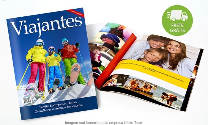 UNIKO TECN: Uniko: Fotozine – revista personalizada com 12, 20 ou 32 páginas