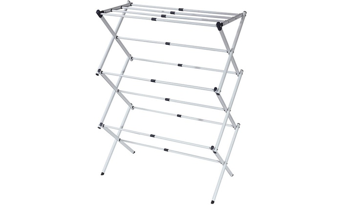 sunbeam expandable drying rack