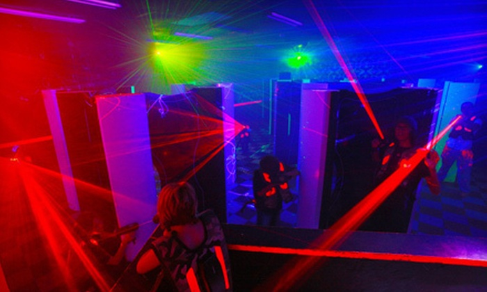 Terrace Sports - Temple Terrace: $16 for Four 15-Minute Games of Laser Tag and One Pizza at Terrace Sports in Temple Terrace ($47.75 Value)
