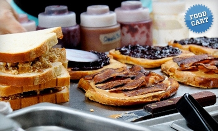 PBJ's - Portland: $5 for $10 Worth of Gourmet Grilled Sandwiches at PBJ's