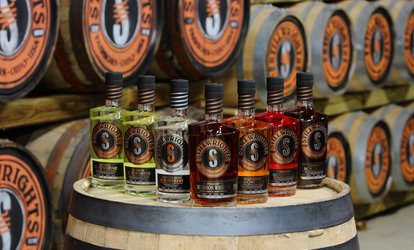 Distillery Tour and Tasting with Shot Glasses For Two or Four at Stillwrights Distillery (Up to 47% Off)