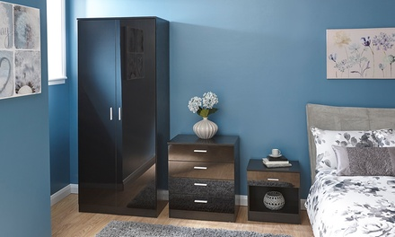 Melbourne Gloss Bedroom Furniture