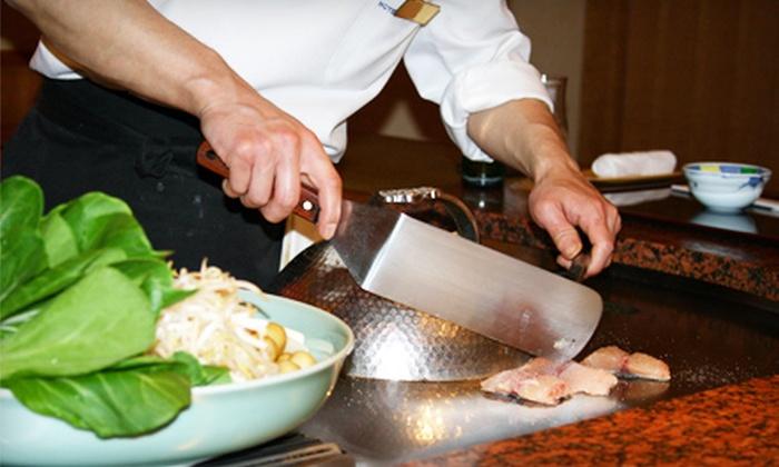 Osaka Japanese Steakhouse & Sushi - Appleton: $15 for $30 Worth of Japanese Fare and Pours Drinks at Osaka Japanese Steakhouse & Sushi in Appleton