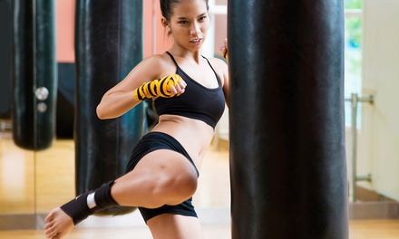 5 or 10 Cardio-Kickboxing Classes at Amerikick (Up to 72% Off)