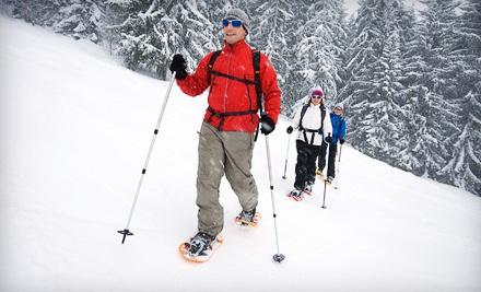 Base Trek Snowshoe Adventure for 1 (a $33 value) - Hemlock Valley Resort in Hemlock Valley