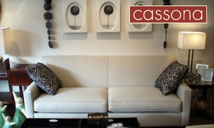 Cassona - Edgewater: $25 for $50 Worth of Accessories and Furniture at Cassona