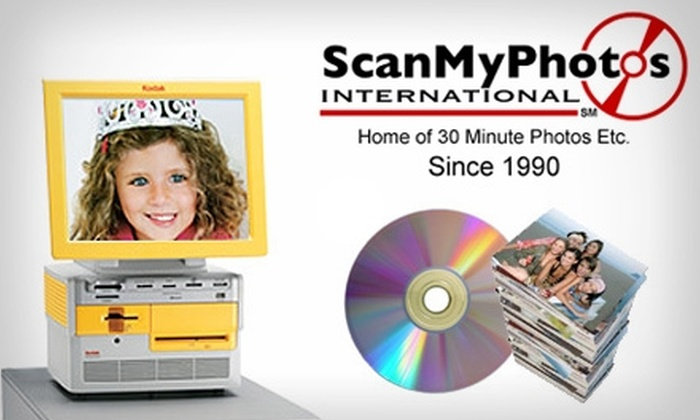 ScanMyPhotos.com - Irvine Business Complex: $21 for $64 Worth of Photo/Slide Scanning, Kodak Picture Kiosk Orders, Photo Restoration, Video/DVD Transfer, and More at ScanMyPhotos.com's Retail Photo Center
