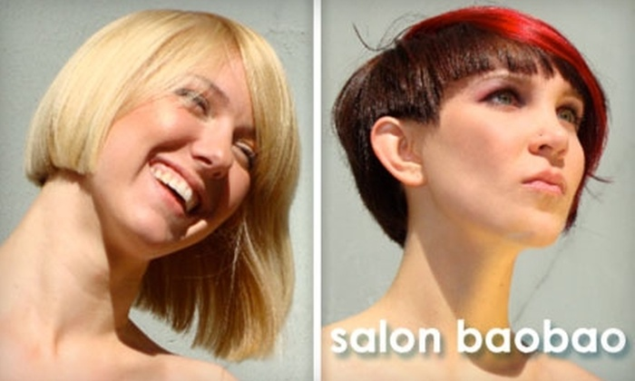 Salon Baobao - Castro: $49 for a Consultation, Haircut, Style, and Kerastase Hair-Mask Treatment at Salon Baobao (Up to $105 Value)