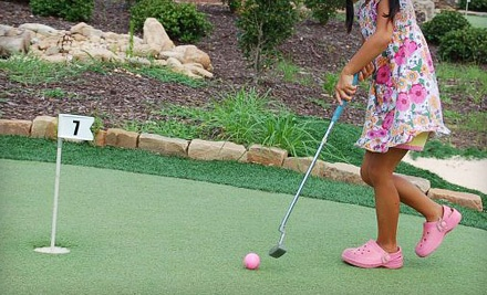 Putt-Putt Package for 2 (up to a $15.50 value) - The Georgia Trail in Duluth