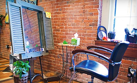 Shampoo, Haircut, Blow-Dry, Styling Session, and a Deep-Conditioning Treatment - Air Salon & Spa in Providence