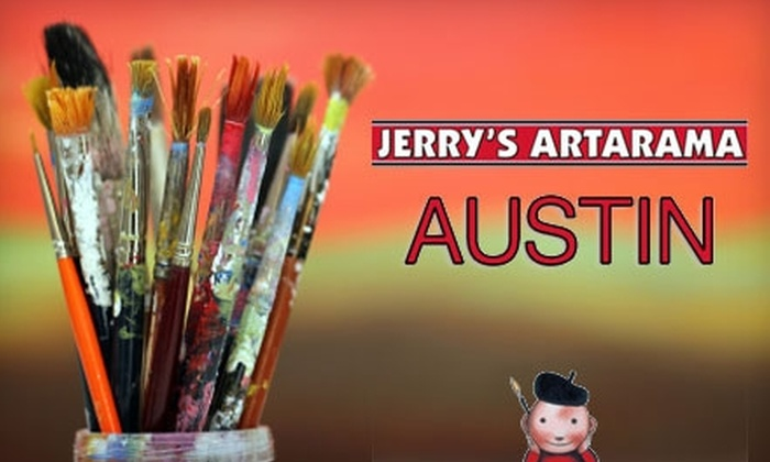 Jerry's Artarama - St. Johns: $50 for $100 Worth of Art Classes for Any Age from Cordovan Art School at Jerry's Artarama