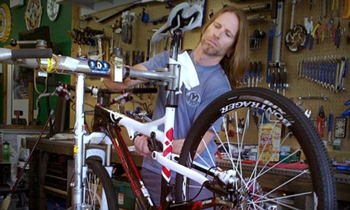 The Hub at Backcountry Outdoors - Pisgah Forest: $20 for a Basic Bike Tune-Up at The Hub at Backcountry Outdoors ($40 Value)