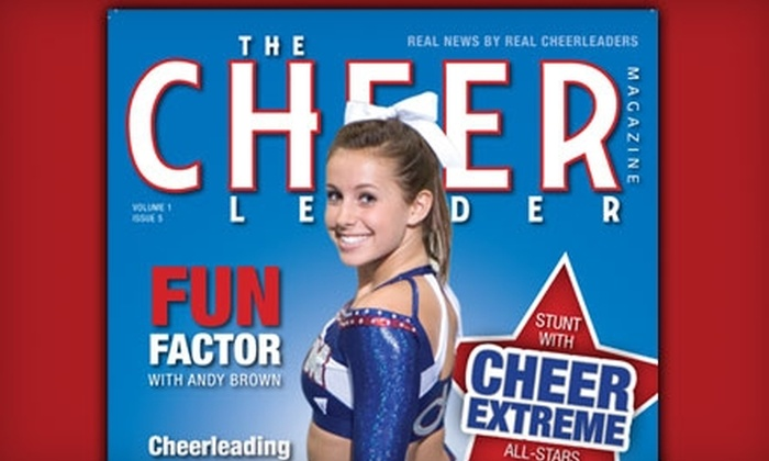 "The Cheer Leader Magazine - Lexington: $10 for a One-Year Subscription to ""The Cheer Leader Magazine"" ($21.20 Value)"