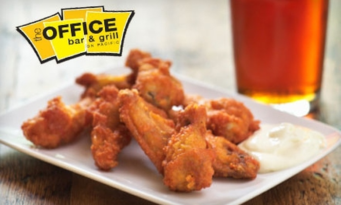 The Office Bar & Grill - New Tacoma: $12 for $25 Worth of Gourmet Pub Fare and Drinks at The Office Bar & Grill