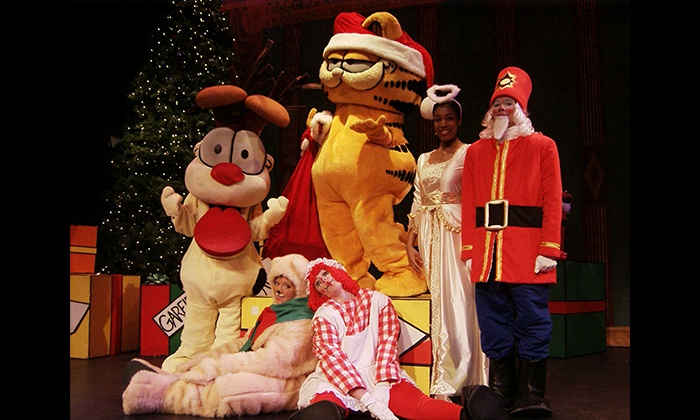 Garfield Christmas.A Garfield Christmas Musical On December 17 At 12 P M Or 4 30 P M