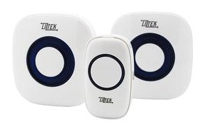 Liztek Wireless Doorbell Remote and Receiver Set