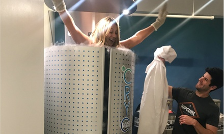 One Cryotherapy Session with Optional Cryo Facial at Cryo Myst Therapy Lounge (Up to 51% Off)