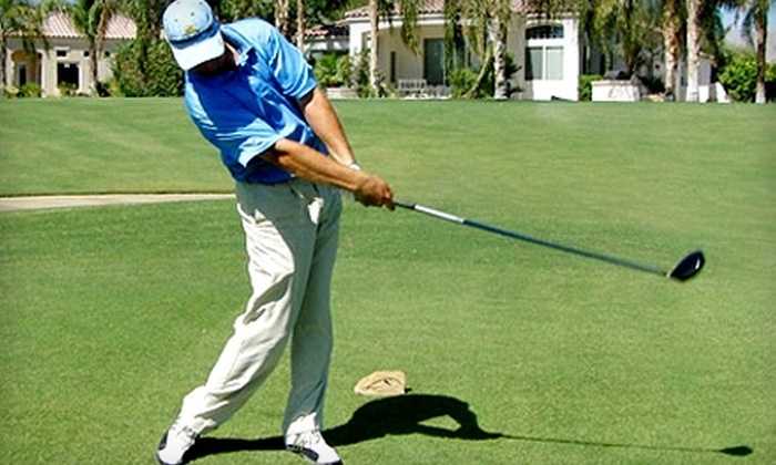 Hititlonger.com - Agoura Hills: $30 for One-Hour Private Golf Lesson at Lindero Country Club and One-Month Membership from Hititlonger.com ($165 Value)