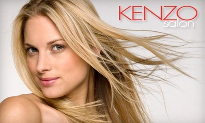 Kenzo Salon - Stoneham: $35 for $75 Toward a Women's Haircut or $20 for $40 Toward a Men's Haircut at Kenzo Salon