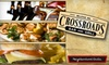 Crossroads Bar & Grill - Crossroads: $12 for $25 Worth of Hearty Breakfast, Lunch, or Dinner Fare at Crossroads Bar and Grill