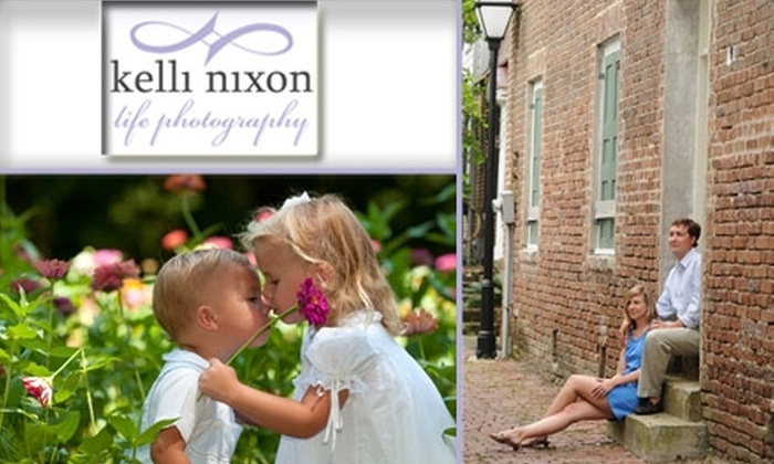 Kelli Nixon Photography  - Denver: $60 for an On-Site Professional Photography Session with Kelli Nixon Photography ($339 Value)