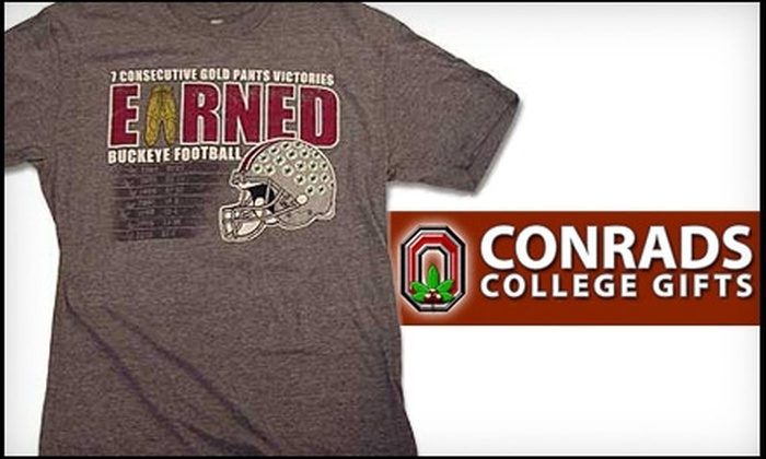 Conrads College Gifts - North Campus: $10 for $20 Worth of College Gifts and Gear at Conrads College Gifts