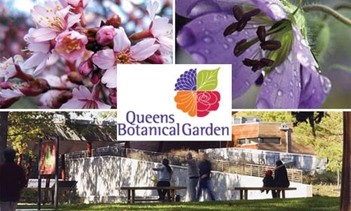 Queens Botanical Garden - Queensboro Hill: $25 for an Individual Annual Membership to Queens Botanical Garden ($50 Value)