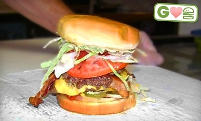 White Crescent Burgers - West Palm Beach: $5 for $10 Worth of Burgers and Beverages at White Crescent Burgers