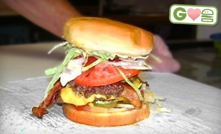 $10 Groupon to White Crescent Burgers - White Crescent Burgers in West Palm Beach
