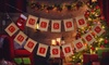 Christmas Burlap Banner