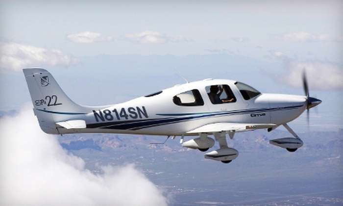 SunCountry Flight Services - Los Alamos Hills: $99 for an Introductory Flight Lesson from SunCountry Flight Services in Murrieta ($197.50 Value)