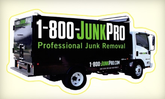 1-800-JUNKPRO - Downtown Wichita: $35 for $75 Worth of Junk Removal from 1-800-JUNKPRO