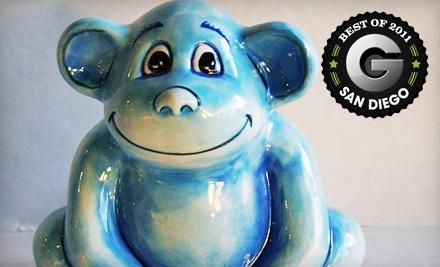 $30 Groupon to CeramiCafe - CeramiCafe in San Diego