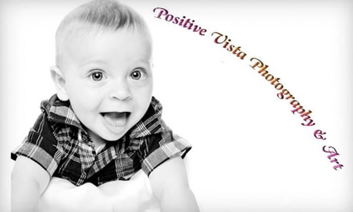 Positive Vista Photograph & Art - Central Santa Cruz: $69 for 60-Minute In-Studio Photo Session and Three Retouched Digital Files at Positive Vista Photography & Art ($352 Value)