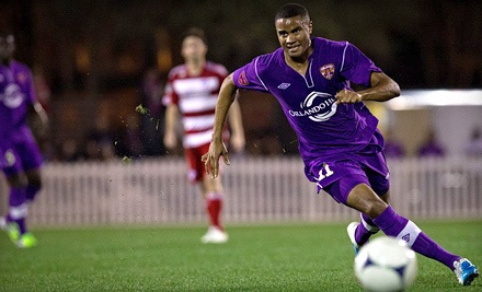Orlando City Soccer Club vs. Richmond Kickers on Sat., April 28 at 7:30PM: Sideline Seating for 2 - Orlando City Soccer Club in Orlando