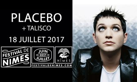 1 place en catégorie 1 ou 2 pour le concert de Placebo, le mardi 18 juillet 2017 à 20h30, dès 25 € aux Arènes de Nîmes