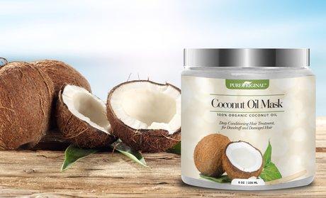 Pure Original Organic Coconut Oil Hair Mask (8 Fl. Oz.)