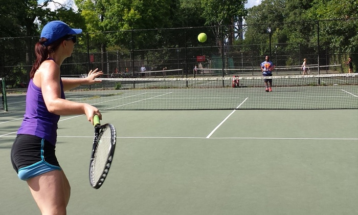 Tennis World NYC - Multiple Locations: Group Lessons or Clinics at Tennis World NYC (Up to 53% Off). Three Options Available.