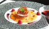 Silk brasserie - Lyon: Entrée, plat et dessert au choix à la carte pour 2 ou 4 personnes dès 59,90 € au restaurant Silk Brasserie