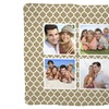 Personalized Jersey Fleece Outdoor Blankets from MailPix